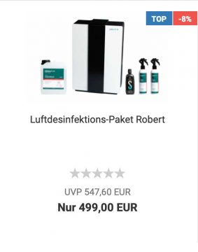 Luftdesinfektion Robert
